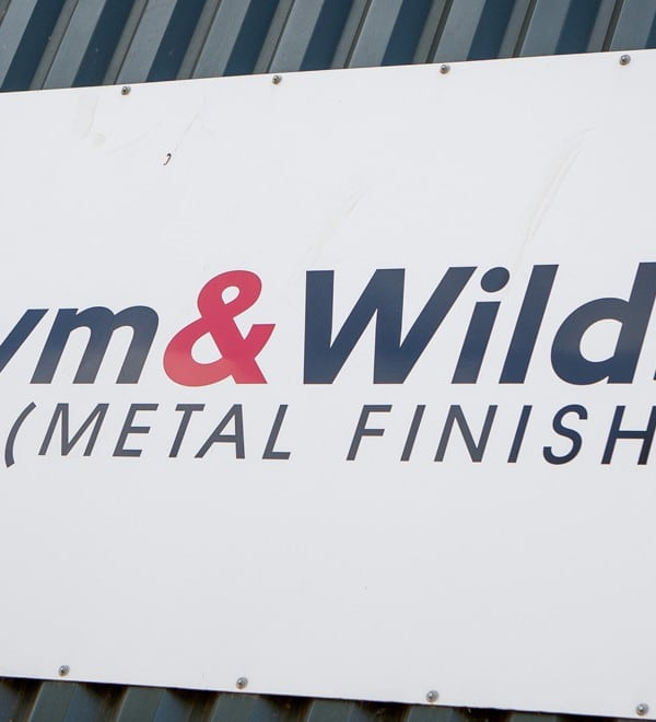 Staffordshire-based powder coaters Pym and Wildsmith