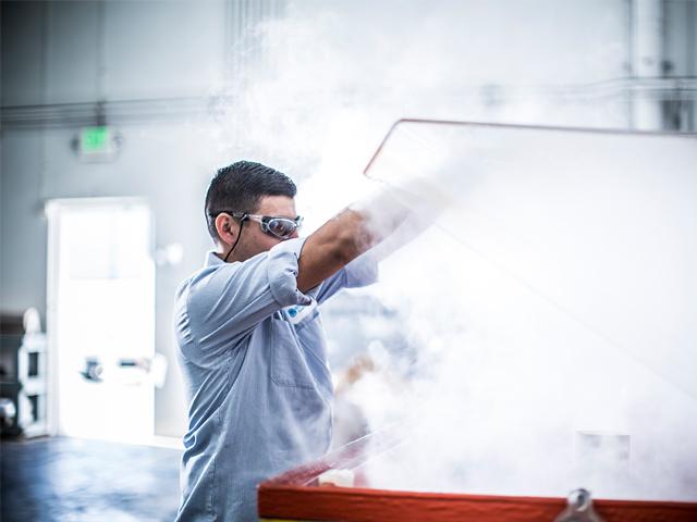 Salt spray corrosion testing